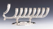 Sterling Silver Menorah - Merdinger Collection
