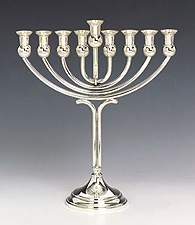 Sterling Silver Menorah - Barak Collection