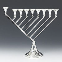 Sterling Silver Menorah - Galrya Collection