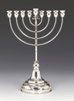 Sterling Silver Menorah - Chentoroza Collection
