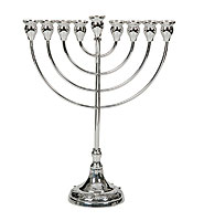 Sterling Silver Menorah - Chentar Collection