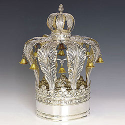 Sterling Silver Torah Crown