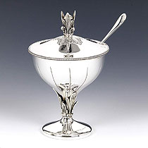 Sterling Silver Honey Dish - Logus