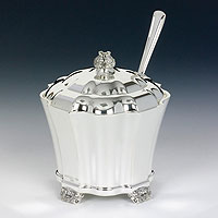 Sterling Silver Honey Dish - Kovalt