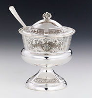 Sterling Silver Honey Dish - Savion