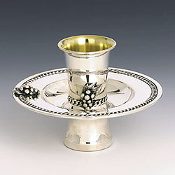 Sterling Silver Mayim Achronim Set - Grapes