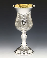 Sterling Silver Kiddush Cup - Portofino