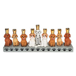 Menorah for Dog Lovers
