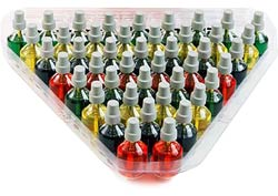 Prefilled Colored Oil Cups