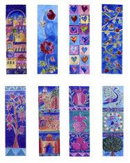 Judaic Bookmark Collection - 6 Pack