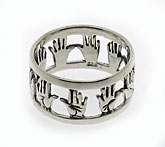Sterling Silver Ring - Blessing of the High Priest