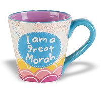 Ceramic Yiddish Mugs - Great Morah