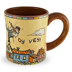 Fidler on the Roof Coffee Mug - 14oz
