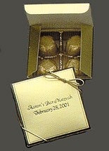 Personalized 4 Piece Truffle Box