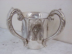 Sterling Silver Wash Cup - Smooth