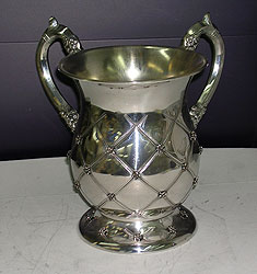 Sterling Silver Wash Cup - Chess