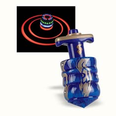 Large Laser Lights Dreidel with Launcher
