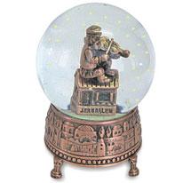 Fiddler on the Roof Snow Globe - Medium