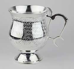 925 Silver Coated Wash Cup