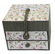 Embroidered Jewelry Boxes - Bat Mitzvah