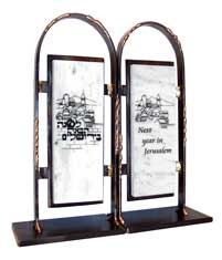 Gary Rosenthal Jerusalem Bookends