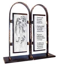 Gary Rosenthal Woman of Valor Bookends