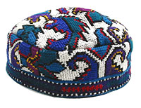 Buchari Kipah Hat - Hand Made