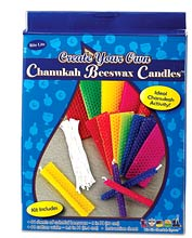 Create Your Own Beeswax Candles - 44 Pack