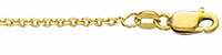 14K Gold Double Weight Cable Chain