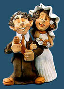 Whimsical Figurine - The Wedding