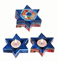 Star Shaped Tea Light Holders