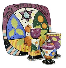 Ceramic Jafa Havdallah Set