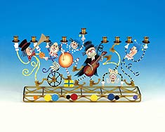 Metal Klezmer Clowns Menorah