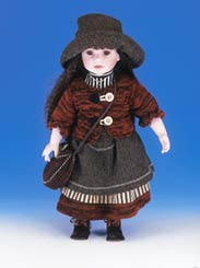 Porcelain Ellis Island Doll - Devorah