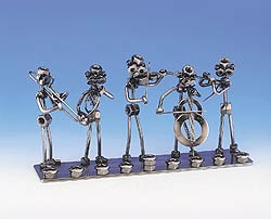 Steel Nuts & Bolts Menorah - Orchestra