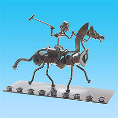 Nuts & Bolts Polo Menorah