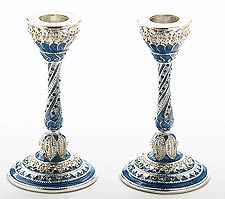 Ornate Capri Candlestick Set