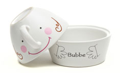 Ceramic Coffee & Cookie Set  Bubbe
