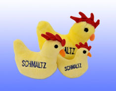 Jewish Plush Pet Toy - Schmaltz
