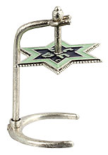 Star of David Art Dridel with Raised Stand