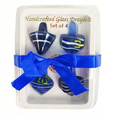 Dreidel Gift Box - 4 Assorted Colors