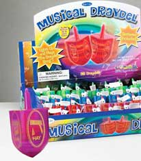 Musical Dreidel with Lights
