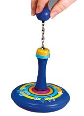 Large Pump 'N Spin Dreidel