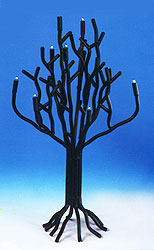 Electric Hanukkah Tree Menorah / Decoration