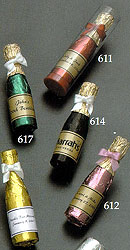 Personalized Chocolate Celebration Wine Bottles