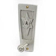 Pewter Star of David Peg