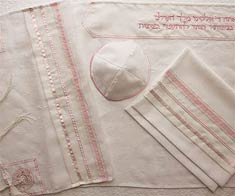Poly Sheer Tallit Set - Matriarchs