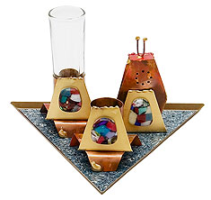 Havdallah Set by Gary Rosenthal - Triangle
