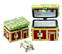 Miniature Keepsake Box - Sukkah