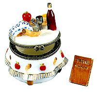 Miniature Keepsake Box - Rosh Hashana